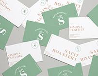 Saint Roastery- Coffee shop Branding