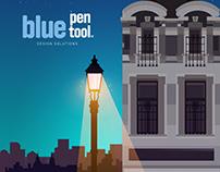 Bluepentool Bluepentool flyer design
