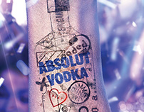 Absolut Nights Advertising