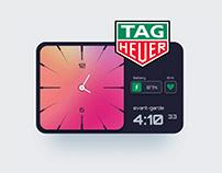Tag Heuer digital watch