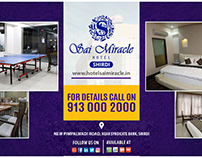Online Booking for hotels in shirdi
