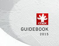 Guidebook Design | CNEX 2015 Channel Rebrand