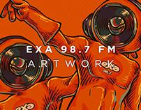 EXA 98.7 FM Artwork