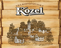 Velkopopovicky Kozel Beer TVC, POS
