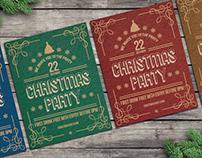 Christmas Poster Flyers