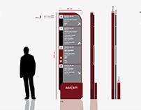 """""""Ahmed Adnan Saygun Sanat Merkezi"""" Yönlendirme Tasarımı"""