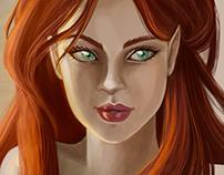 Aaylie Demonwolf - Original Character