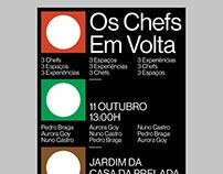 OS CHEFS EM VOLTA - Poster