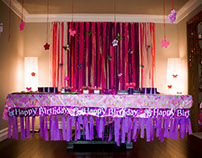 Event Decor (5th Butterfly Birthday)