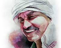 Water Color Painting (Sunil ji)- by Artist Kamal Nishad