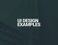 UI - IxD Projects 2018-19