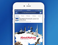 AboutMyArea Portsmouth - Profile Image Graphic