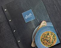 Restaurant d'arte menu