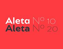 Bw Aleta typeface