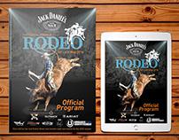 National Finals Rodeo Official Program Magazine (APRA)