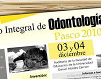 I Congreso Integral de Odontología - Pasco