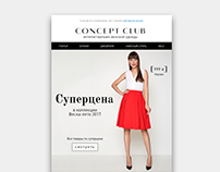 Concept Club newsletter
