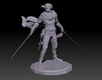 Drizzt Do Urden 3D Print