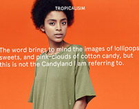Tropicalism — Fashion editorial for Pull&Bear