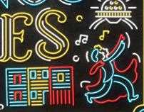 Buenos Aires Neón - Icon design