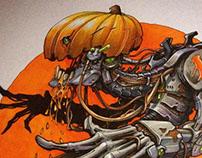 #INKTOBER 2015 by Nitrouzzz Pt. 3 Halloween edition