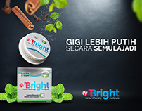 IVT BRIGHT | Herbal Whitening Toothpaste - Poster