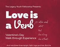 Love is a Verb Event Design