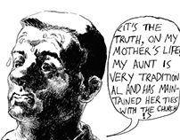 """Excerpts from """"The Quip"""" (short comic)"""