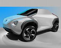 Nissan e-Juke crossover