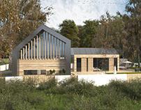 Dom na Polanie (architektura + wnętrze)