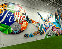"Nike ""Find Your Greatness"" Mural by Tristan Eaton"