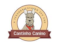 Cantinho Canino Logo Design