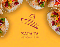 Zapata Mexican Bar | Rebrand