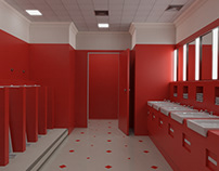 The Shining 3D, Red toilet room