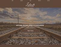 Saliente Online Learning Website Concept