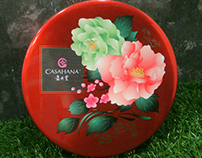 Casahana: Moon Cake Packaging Illustration