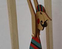 Juguetes artesanales de madera