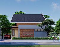 Desain Rumah - Beton Ekspos