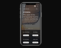Icomia redesign