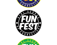 Girl Scouts of CT FUN FEST logo/patch