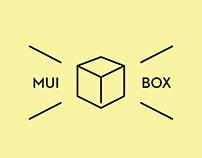 MUIBOX visual identity