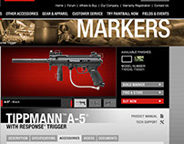 Tippmann Product Pages