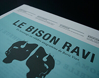 Le Bison Ravi - Journal