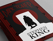 Dark Tower - Book Cover Illustration (Re-imagined)