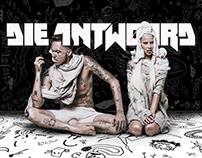 Die Antwoord's official website UI \ UX design redesign