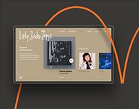Lipky Zvuko Zapys website