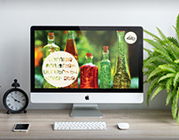 """Haleb"" online shop web design"
