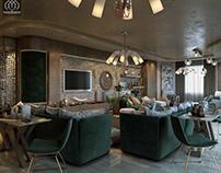 Modern VIlla Living Space