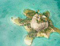 Cartel 4º Aniversario Isla Tortuga