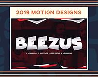 Motion Designs 2019
